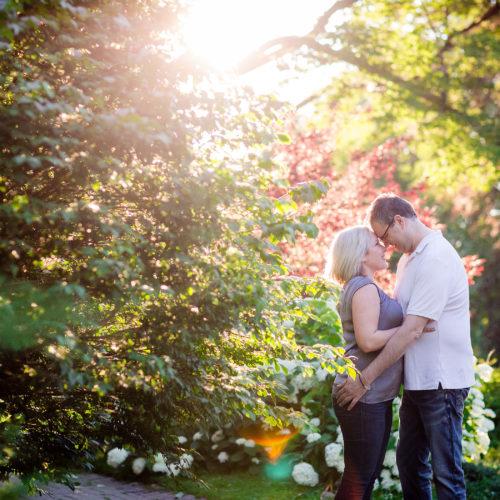 London Wedding Photographer Springbank Park Engagement Session