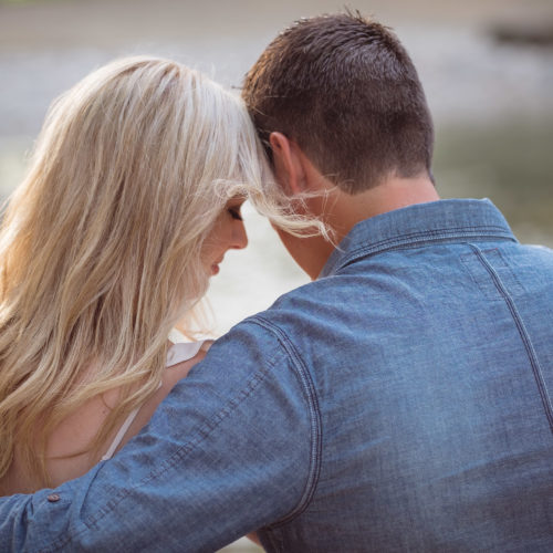 Stratford-Wedding-Photography-Confederation-Park-Engagement-Love-Sprouts-Photography-Sitting-On-Bench